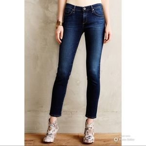 AG Adriano Goldschmied Stevie Ankle Petite Jeans